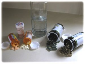 Modern laboratory-made medicines OR traditional nature-made medicines.